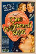 """Movie Posters:Mystery, One Frightened Night (Mascot, 1935). One Sheet (27"""" X 41"""").Mystery.. ..."""