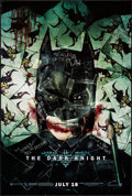 "Movie Posters:Action, The Dark Knight (Warner Brothers, 2008). One Sheet (27"" X 40"") DS Advance Style H. Action.. ..."
