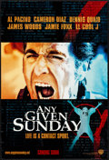 "Movie Posters:Sports, Any Given Sunday (Warner Brothers, 1999). One Sheets (2) (27"" X 40"") DS, Two Styles. Sports.. ... (Total: 2 Items)"