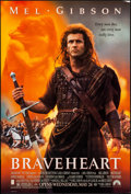 "Movie Posters:Action, Braveheart (Paramount, 1995). One Sheet (27"" X 41"") DS. Action.. ..."