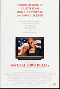 "Movie Posters:Crime, Natural Born Killers (Warner Brothers, 1994). One Sheets (2) (28"" X41"" & 27"" X 40"") SS, Two Styles. Crime.. ... (Total: 2 Items)"