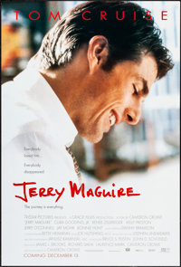 "Jerry Maguire & Others Lot (Tri-Star, 1996). One Sheets (4) (27"" X 40"") DS Advance. Drama. ... (Total:..."