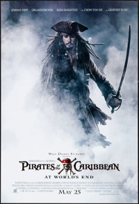 "Pirates of the Caribbean: At World's End (Buena Vista, 2007). One Sheet (27"" X 41"") DS Advance. Adventure"
