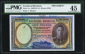 World Currency, Southern Rhodesia Southern Rhodesia Currency Board 5 Pounds 15.12.1939 Pick 11s PMG Choice Extremly Fine 45.. ...