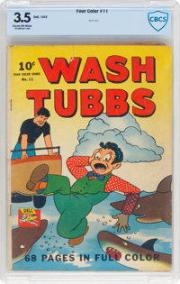 Four Color #11 Wash Tubbs (Dell, 1942) CBCS VG- 3.5 Cream to off-white pages