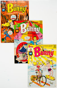 Bunny #5-21 Plus Group of 63 (Harvey, 1968-76) Condition: Average NM-.... (Total: 63 Comic Books)