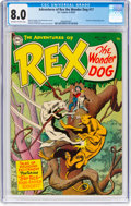 Golden Age (1938-1955):Miscellaneous, Adventures of Rex the Wonder Dog #17 (DC, 1954) CGC VF 8.0 Off-white to white pages....