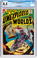 Silver Age (1956-1969):Science Fiction, Mysteries of Unexplored Worlds #11 (Charlton, 1959) CGC VF+ 8.5 Off-white to white pages....