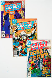 Justice League of America Long Box Lot (DC, 1981-83) Condition: Average VF/NM