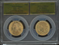 1907 $10 Liberty Eagle, Last Year of Issue MS63 PCGS. This lot will also include a: 1907 $10 Indian Eagle, First Year...