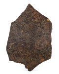 Meteorites:Stoney Irons, Plainview Meteorite Slice. Ordinary Chondrite (H5). Plainview, Hale County, Texas, USA. 5.28 x 3.56 x 0.34 inches ...