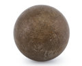 Lapidary Art:Eggs and Spheres, Muonionalusta Meteorite Sphere. Iron, IVA. Northern Sweden -(67° 48'N, 23° 6'E). Found: 1906. 1.75 inches (4.45 cm) indi...