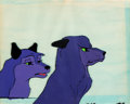 Animation Art:Production Cel, Mowgli's Brothers Production Cel and Background (ChuckJones, 1976)....