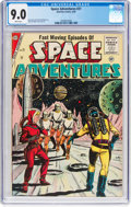 Silver Age (1956-1969):Science Fiction, Space Adventures #21 (Charlton, 1956) CGC VF/NM 9.0 White pages....