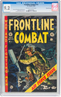 Golden Age (1938-1955):War, Frontline Combat #12 Gaines File Pedigree (EC, 1953) CGC NM- 9.2 Off-white to white pages....