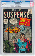 Silver Age (1956-1969):Science Fiction, Tales of Suspense #2 (Marvel, 1959) CGC VG+ 4.5 Cream to off-whitepages....