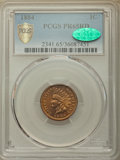 Proof Indian Cents: , 1884 1C PR65 Red PCGS Secure. CAC. PCGS Population: (48/47 and 1/0+). NGC Census: (23/19 and 0/0+). PR65. Mintage 3,942. ...