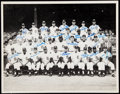 Autographs:Photos, 1968 Detroit Tigers Team Signed Oversized Photograph - World Series Champions (23 Signatures)....