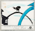 Animation Art:Production Drawing, Dr. Seuss' How The Grinch Stole Christmas StoryboardOriginal Art (MGM, 1966)....