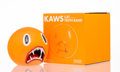 Prints & Multiples, KAWS (American, b. 1974). Cat Teeth Bank (Orange), 2007. Painted cast vinyl. 5 x 5 x 5 inches (12.7 x 12.7 x 12.7 cm). S...