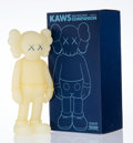 Prints & Multiples, KAWS (American, b. 1974). Five Years Later Companion (Glow in the Dark), 2004. Cast vinyl. 14-3/4 x 6-3/4 x 3-3/4 inches...