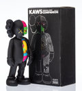 Prints & Multiples, KAWS (American, b. 1974). Dissected Companion (Black), 2006. Painted cast vinyl. 14-3/4 x 6-1/4 x 3-1/4 inches (37.5 x 1...
