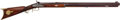Long Guns:Muzzle loading, Wm. Wingert Half-Stock Percussion Target Rifle....