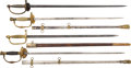 Edged Weapons:Swords, Lot of Four U.S. 19th Century Cavalry Swords.... (Total: 4 Items)