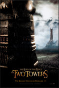 """Movie Posters:Fantasy, The Lord of the Rings: The Two Towers (New Line, 2002). One Sheet (26.75"""" X 39.75"""") SS Advance Tower Style. Fantasy.. ..."""