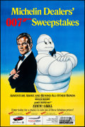 """Movie Posters:James Bond, A View to a Kill- Michelin Sweepstakes (MGM/UA/ Michelin, 1985). Advertising Poster (32.5"""" X 49"""") Dan Gouzee Artwork. James ..."""