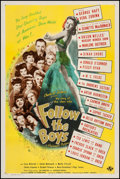 "Movie Posters:Comedy, Follow the Boys (Universal, 1944). One Sheet (27"" X 41"") Style C.Comedy.. ..."