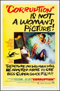 """Movie Posters:Horror, Corruption & Others Lot (Columbia, 1968). One Sheets (4) (27"""" X41""""). Horror.. ... (Total: 4 Items)"""