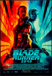 """Blade Runner 2049 (Warner Brothers, 2017). One Sheet (27"""" X 40"""") DS Advance & Mini Poster (11"""" x..."""