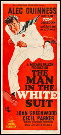 "Movie Posters:Comedy, The Man in the White Suit (BEF, 1953). Australian Daybill (13.5"" X30""). Comedy.. ..."