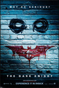 """Movie Posters:Action, The Dark Knight (Warner Brothers, 2008). One Sheet (27"""" X 40"""") DS IMAX Advance Graffiti Style. Action.. ..."""