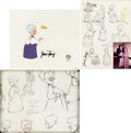 Animation Art:Limited Edition Cel, The Art of Granny Group (Warner Brothers, c. 1950s-90s).... (Total: 3 Items)