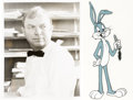 Animation Art:Color Model, Bugs Bunny Color Model Cel (Warner Brothers, 1970's/80's)....(Total: 2 Items)