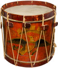 Military & Patriotic:Civil War, Superb Civil War-Era Artillery Snare Drum by Horstmann, Brothers & Company....
