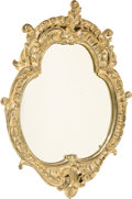 Furniture : Continental, A Rococo-Style Silvered and Carved Wood Mirror, mid-20th century. 31-1/2 x 25-1/4 inches (80.0 x 64.1 cm). ...
