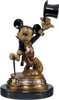 Memorabilia:Disney, Showtime Mickey Mickey Mouse Limited Edition Bronze by Bill Toma Artist's Proof (Walt Disney, 1995)....