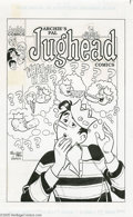 Original Comic Art:Covers, Stan Goldberg & Mike Esposito - Archie's Pal Jughead Comics #49Cover Original Art (Archie Comics, 1993). In March of 1993, ...