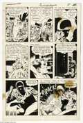 Original Comic Art:Panel Pages, Wally Wood, John Giunta, and Dan Adkins - T.H.U.N.D.E.R. Agents #9, page 5 Original Art (Tower, 1966). Dynamo does a little ...