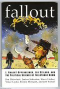 "Books:First Editions, Fallout Graphic Novel (G. T Labs, 2001) Condition: NM-. Firstedition. Jeff Jones cover. Subtitled ""J. Robert Oppenheimer, L..."