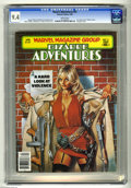Modern Age (1980-Present):Miscellaneous, Bizarre Adventures #31 (Marvel, 1982) CGC NM 9.4 White pages. Violence issue. Hangman story. Joe Jusko cover. John Byrne, Fr...