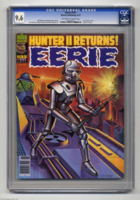 Eerie #101 (Warren, 1979) CGC NM+ 9.6 Off-white to white pages. Jim Laurier cover. Hunter II story. Jim Starlin, Alfredo...
