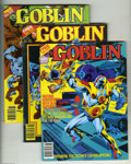 Magazines:Superhero, Goblin Group (Warren, 1982) Condition: Average VF/NM. Group ofeight magazines includes multiple copies of all three issues;... (8items)