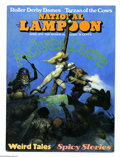 Magazines:Humor, National Lampoon #13 (National Lampoon, 1971) Condition: FN. April1971 issue. Frank Frazetta cover. From the collection o...