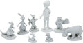 Animation Art:Maquette, Winnie the Pooh's Friends Maquette Set of 8 (Walt Disney, c. 1970s-80s). ... (Total: 8 Items)