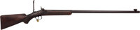 Unmarked Sporterized Percussion Rifle