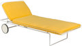Furniture , A Richard Schultz for Knoll Associates Chaise Lounge Model 715, designed 1963. 13 x 73 x 29 inches (33.0 x 185.4 x 7...